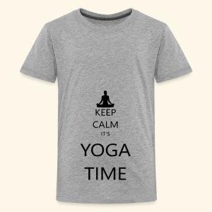 YOGA - Kids' Premium T-Shirt