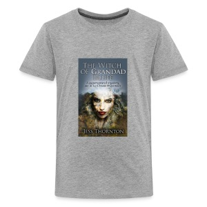 The Witch of Grandad Bluff cover - Kids' Premium T-Shirt