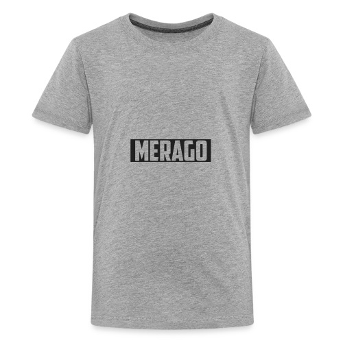 Transparent_Merago_Text - Kids' Premium T-Shirt