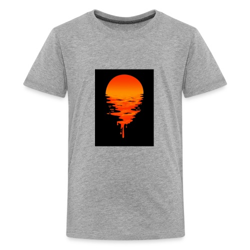 Sunset melting away - Kids' Premium T-Shirt