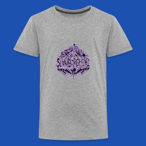 SLAMBORGHINI ELECTRIC PURP - Kids' Premium T-Shirt