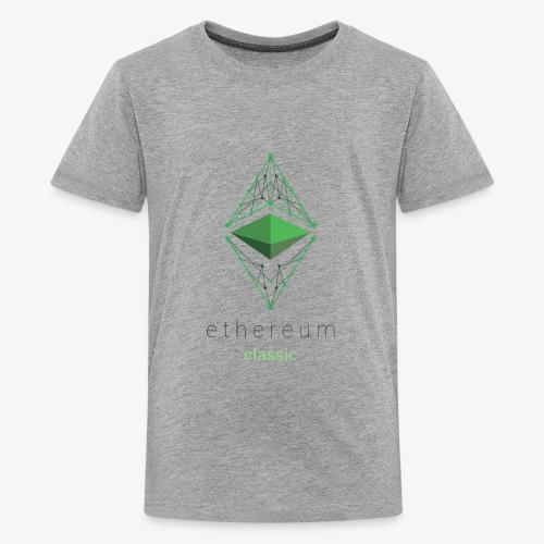 Ethereum Classic Logo - Kids' Premium T-Shirt
