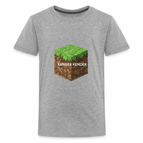 Large Print Block - Kids' Premium T-Shirt