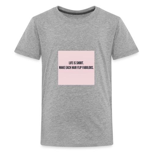 LongHairLele - Kids' Premium T-Shirt