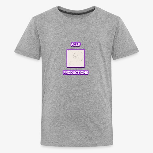 AceD Productions Purple Logo - Kids' Premium T-Shirt