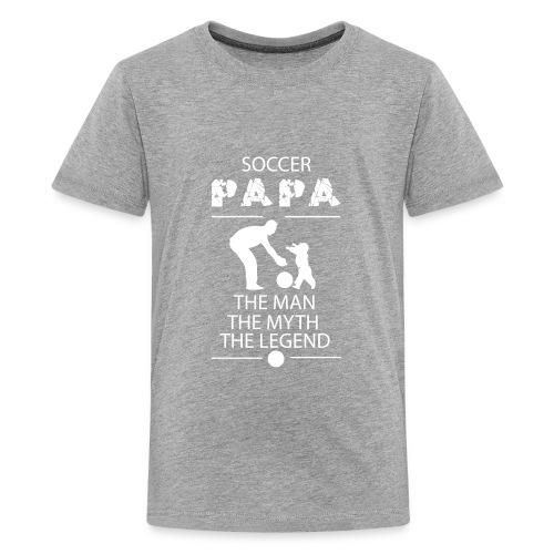 soccer papa tshirt - Kids' Premium T-Shirt