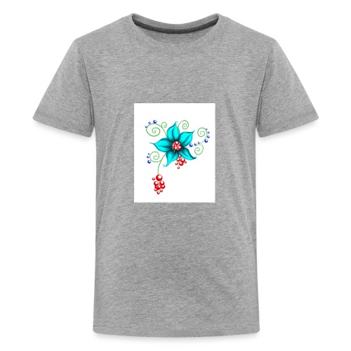 Blooms - Kids' Premium T-Shirt