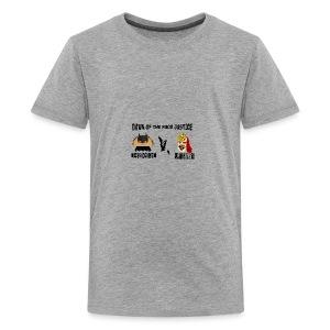 TACO KNIGHT VS SUPER BURRITO - Kids' Premium T-Shirt