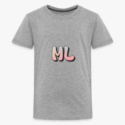 ML dot fade - Kids' Premium T-Shirt