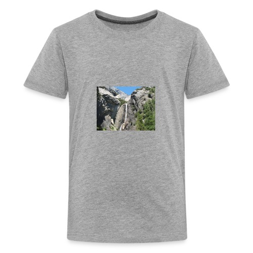 waterfallcutoff - Kids' Premium T-Shirt