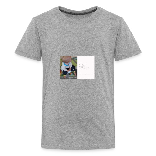 Op het potje gaan? - Kids' Premium T-Shirt