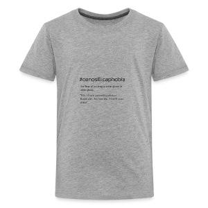 cenosillicaphobia - Kids' Premium T-Shirt