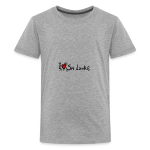 I love Sri Lanka tees - Kids' Premium T-Shirt