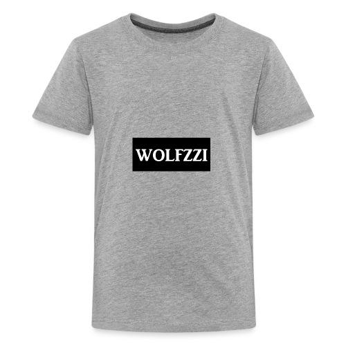 wolfzzishirtlogo - Kids' Premium T-Shirt