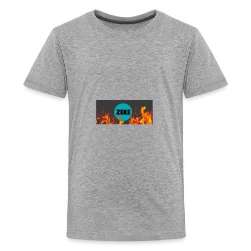 Zeke Logo Shirt - Kids' Premium T-Shirt