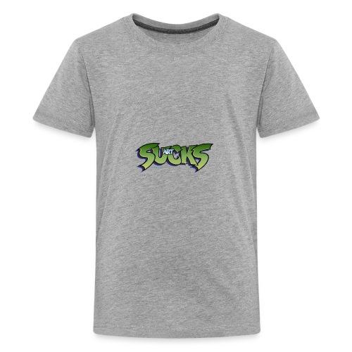 Art Sucks - Damned - Kids' Premium T-Shirt