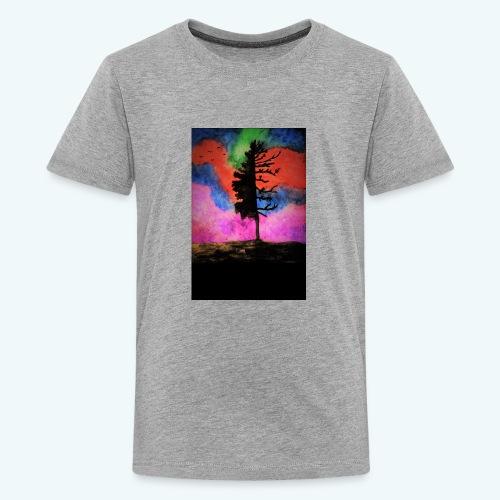 colorful_tree - Kids' Premium T-Shirt