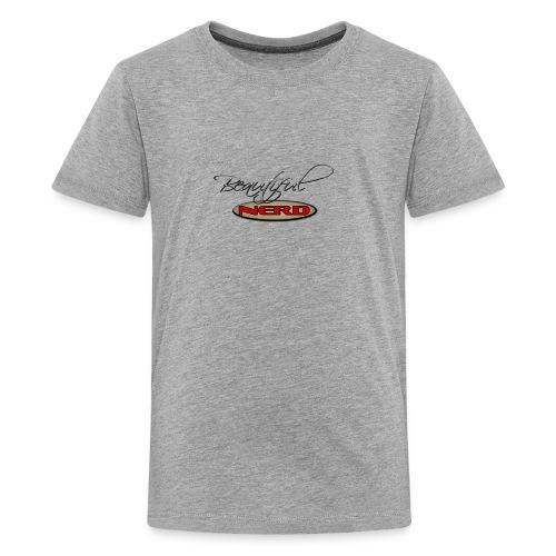 beautiful nerd - Kids' Premium T-Shirt