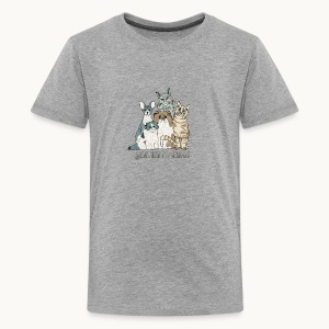 CATS - SENTIENT BEINGS - Carolyn Sandstrom - Kids' Premium T-Shirt