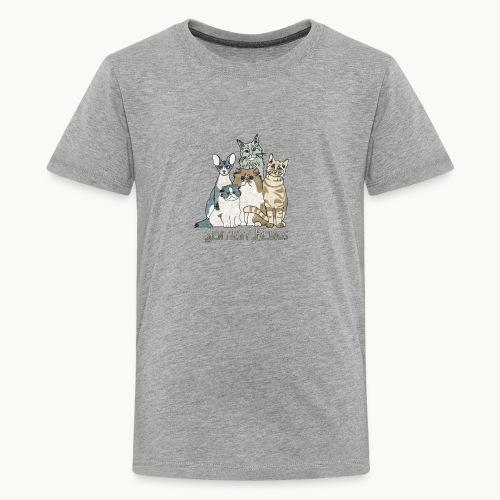 CATS - SENTIENT BEINGS - Carolyn Sandstrom - Kids' Premium T-Shirt