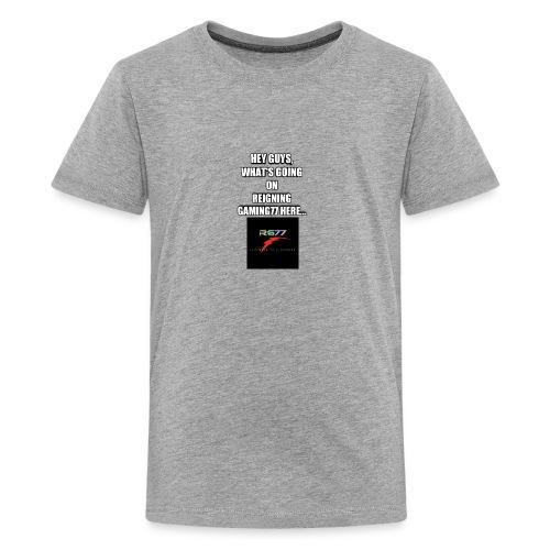 Hey Guys, (SLOGAN MERCH!) - Kids' Premium T-Shirt