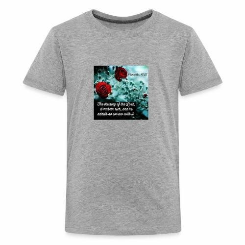Proverbs 10:22 - Kids' Premium T-Shirt