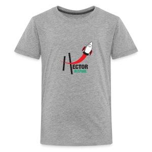 Playera HectorES Logo a Color - Kids' Premium T-Shirt