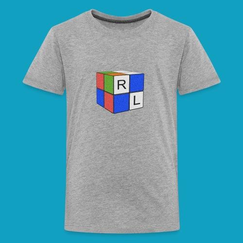 Faded Cube - Kids' Premium T-Shirt