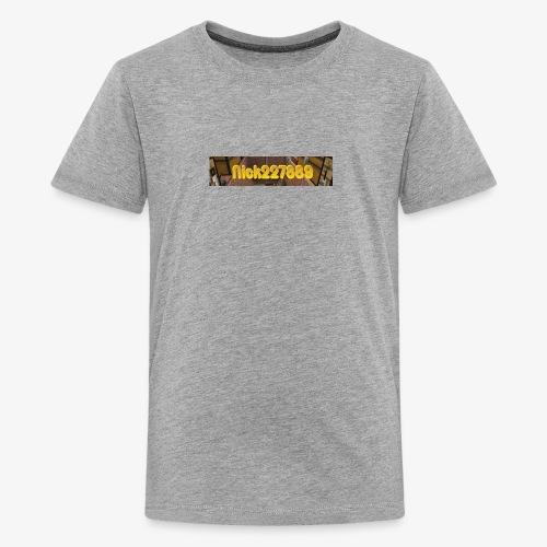 Flat Logo - Kids' Premium T-Shirt