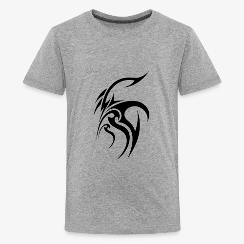 Cool tribal tattoo design - Kids' Premium T-Shirt