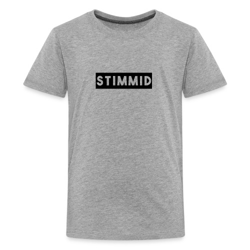 Stimmid black box logo - Kids' Premium T-Shirt