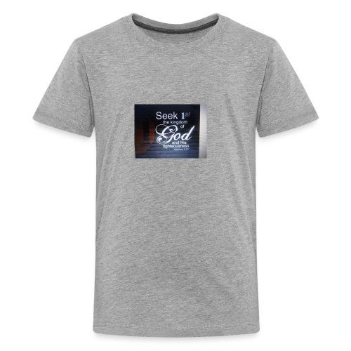 Start Your Day With Prayer - Kids' Premium T-Shirt