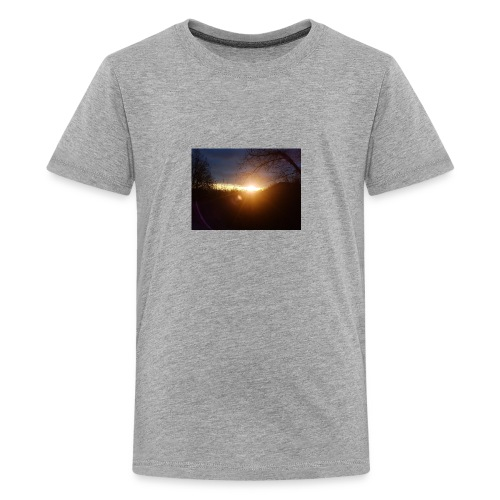 Sunrise morning. - Kids' Premium T-Shirt