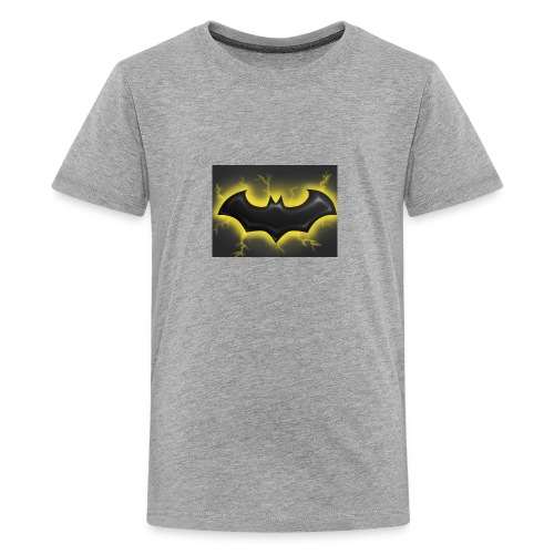 batman symbol by mushroomproductions d3d6cxs - Kids' Premium T-Shirt