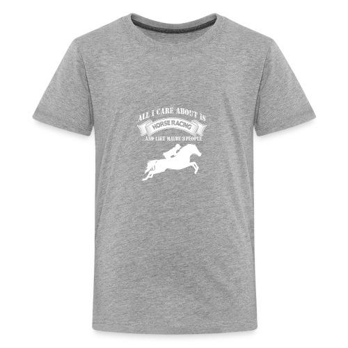 Horse Racing - Kids' Premium T-Shirt