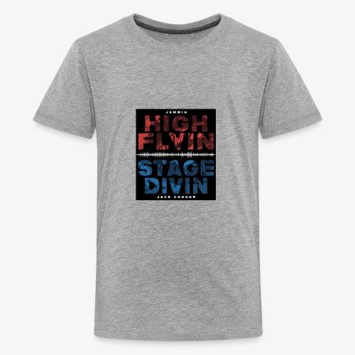 High Flyin Stage Divin - Kids' Premium T-Shirt