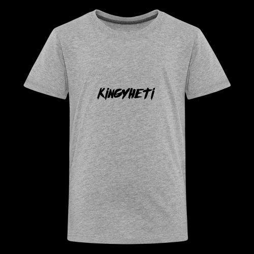 KingYheti Logo - Kids' Premium T-Shirt