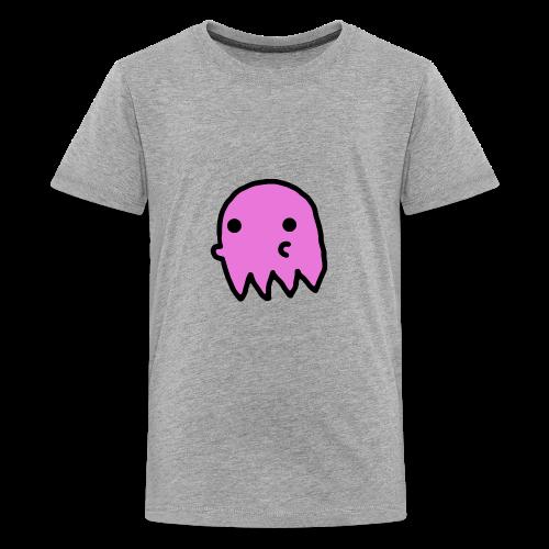 Pink Ghost - Kids' Premium T-Shirt