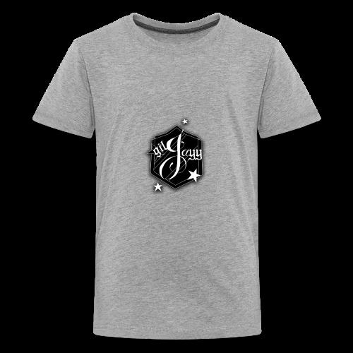 GilJayy Badge (White) - Kids' Premium T-Shirt