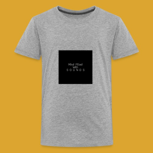 Mind Filled with Sounds - Kids' Premium T-Shirt