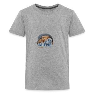 Du er ikke alene (Skam) - Kids' Premium T-Shirt