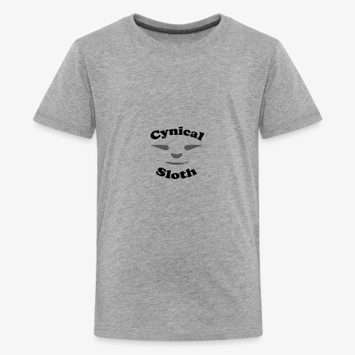 Cynical Sloth limited-edition company logo - Kids' Premium T-Shirt