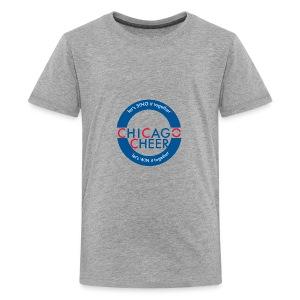 CHICAGO CHEER.com - Kids' Premium T-Shirt