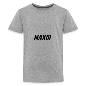 Maxiii Official Shirt Logo! - Kids' Premium T-Shirt