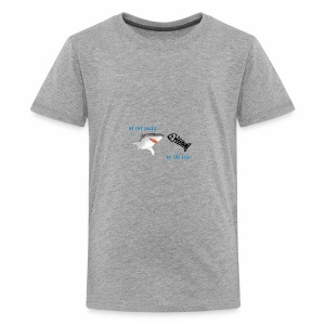 SHARK OR THE FISH? - Kids' Premium T-Shirt
