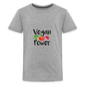 Vegan Power Baby Gift - Kids' Premium T-Shirt