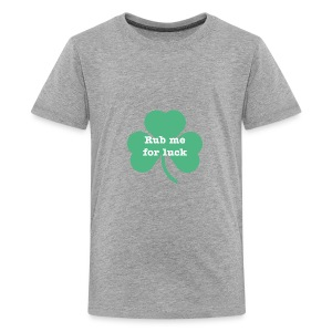 Rub me for luck - Kids' Premium T-Shirt