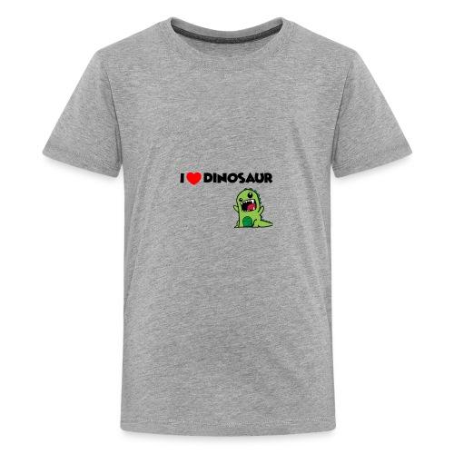 I LOVE DINOSAUR - Kids' Premium T-Shirt