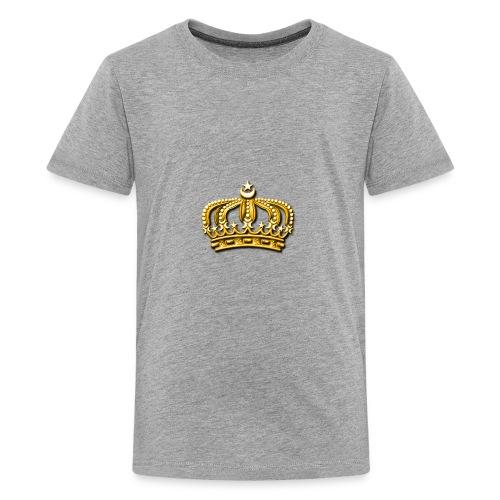 Gold crown - Kids' Premium T-Shirt