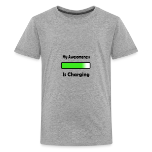 awesomenessgreen - Kids' Premium T-Shirt